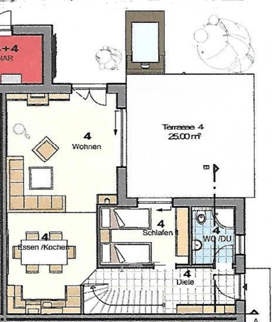 Erdgeschoss Casa Leonardo Mit Wohnzimmer Kamin Esszimmer Und Kche Schlafzimmer Bad